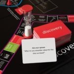 "A discovery Card: ""What do you remember about the first time we kissed?"" 